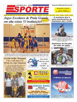 Jogos Escolares de Praia Grande reúne 53