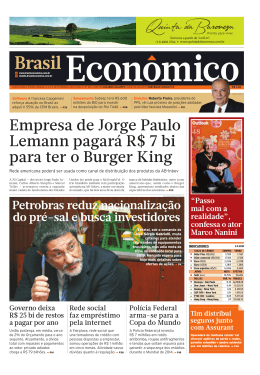 empresas - Brasil Econômico