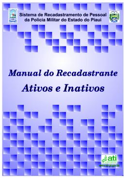 Manual do Usuário: Militares Ativos e Militares Inativos