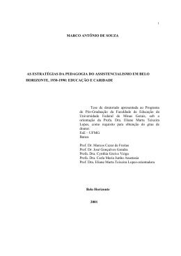 PROCESSO DE SELEO DOCENTE - Biblioteca Digital de Teses e