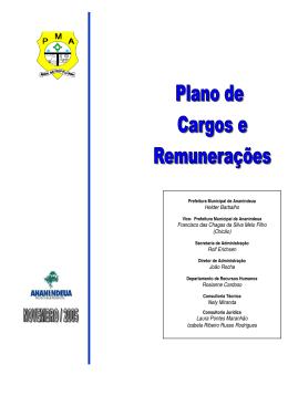 PCCR alterado - Prefeitura de Ananindeua