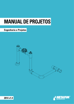 MANUAL DE PROJETOS - NETAFIM