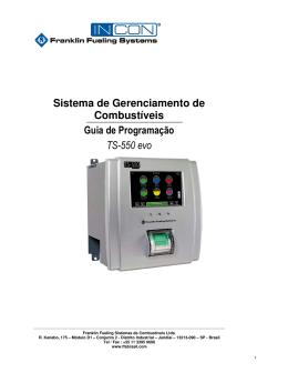 Sistema de Gerenciamento de Combustíveis Guia de Programação