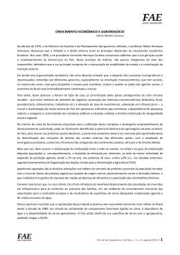 Crescimento Econômico e Agronegócio   Gilmar Mendes