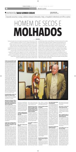 ENTREVISTA/SAULO LEVINDO COELHO