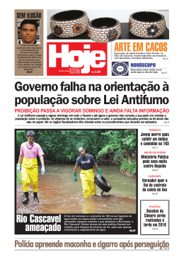 Jornal Hoje - 03 - Politica