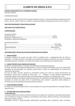 Bula CLORETO DE SODIO - 228V06