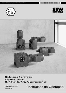Redutores à prova de explosão Séries R..7, F..7, K..7, S..7