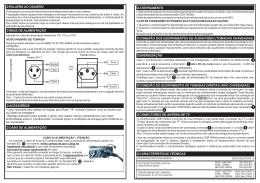 manual cdr 1500ex 105470 R4 correção led