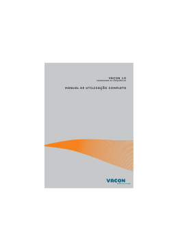 Vacon 10 complete user manual.book