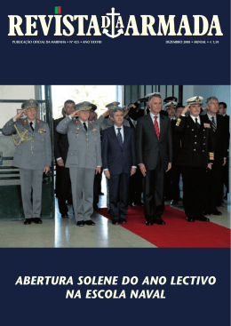 abertura solene do ano lectivo na escola naval