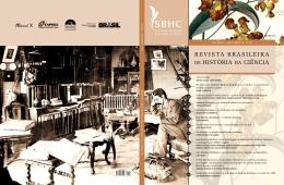 REVISTA BRASILEIRA DE HISTÓRIA DA CIÊNCIA, vol. 5