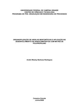 graduação em engenharia de processos