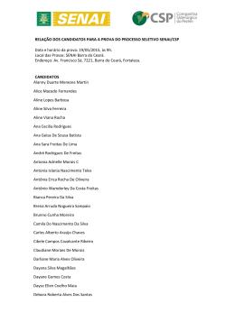 quinto grupo dos classificados para a próxima fase - entrevista