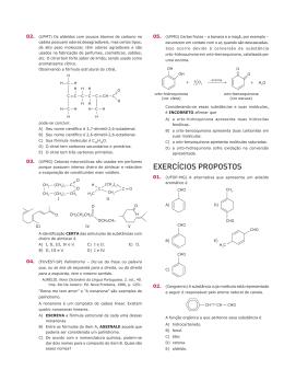 EXERCÍCIOS PROPOSTOS - Prof. Lucas Siqueira