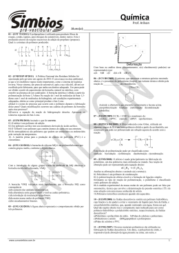 Química Química - Colégio e Curso Simbios