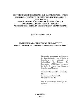 Dissertação - Universidade do Extremo Sul Catarinense