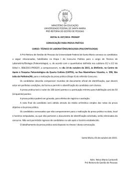Edital n. 027/2015