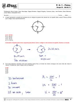 P. U. 1 – Física