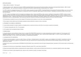 relatório - tga versão iii - prestador por especialidade