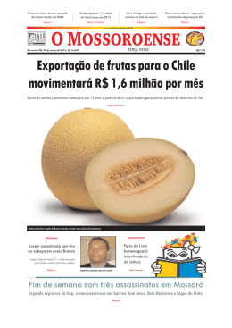 Capa O Mossoroense PC - 25-3.qxd - Fora do ar