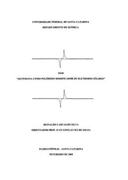 quitosana como polímero modificador de eletrodos sólid