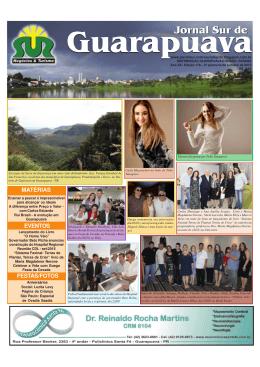 jornal 178.pmd - Jornal Sur Guarapuava