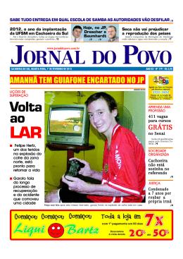 Volta ao - Jornal do Povo