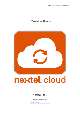 Windows - Nextel Cloud