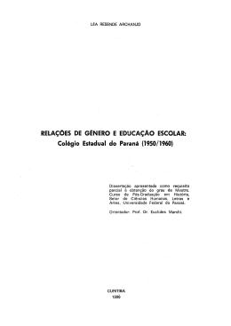 Colégio Estadual do Paraná - DSpace