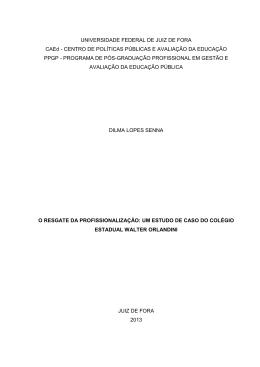 um estudo de caso do colégio estadual walter orlandini