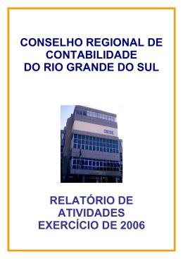 CONSELHO REGIONAL DE CONTABILIDADE DO RIO