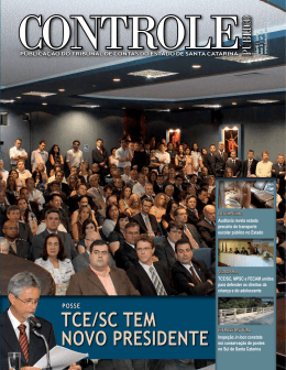 Publicação do Tribunal de Contas do Estado de Santa Catarina