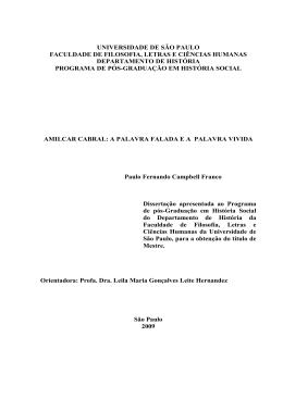 Paulo Campbell_Amilcar Cabral