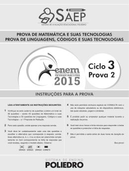 Ciclo 3 - ENEM - Prova II