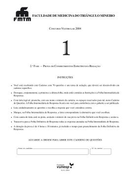 FACULDADE DE MEDICINA DO TRIÂNGULO MINEIRO