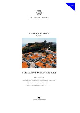 (inclui Plano Diretor Municipal PDM) – Ver páginas abaixo