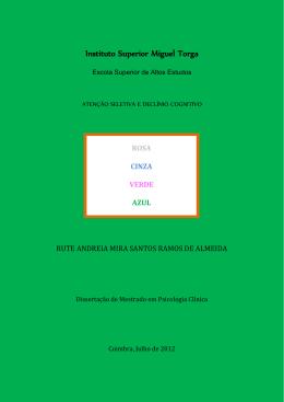 Tese Rute Almeida - Repositório Aberto do ISMT