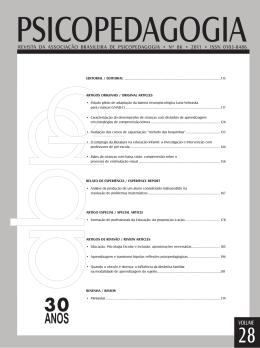LNNB-C - Revista Psicopedagogia