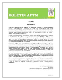 BOLETIN APTM