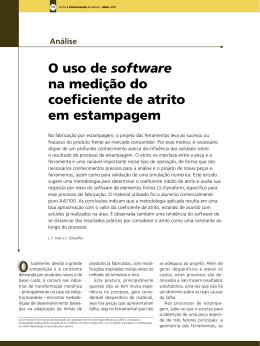 O uso de software na medição do coeficiente de atrito em