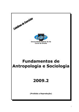Fundamentos de Antropologia e Sociologia - drb