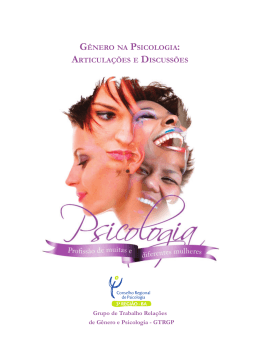 gênero na psicologia - BVS Psicologia Brasil