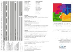 12 congresso nacional de medicina legal e ciências forenses