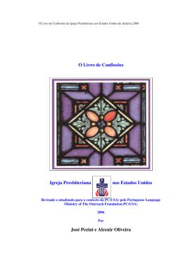 O Livro de Confissões Igreja Presbiteriana nos Estados Unidos