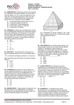 matemática - Núcleo – Centro de Ensino