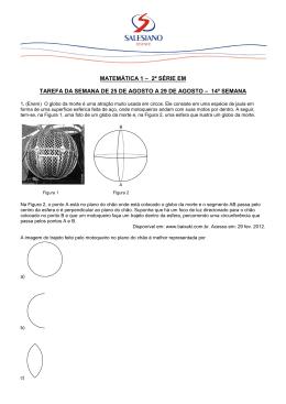 Questões de Matemática 1 - Instituto São José Salesiano Resende/RJ