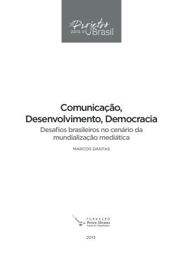 Comunicação, Desenvolvimento, Democracia