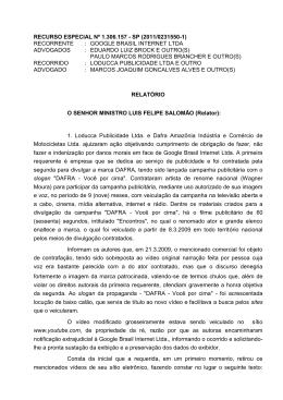 RECURSO ESPECIAL Nº 1.306.157 - SP (2011/0231550