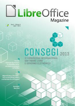 CONSEGI 2013 - LibreOffice